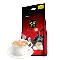G7 COFFEE 中原咖啡 速溶咖啡 香浓三合一咖啡 100条 *4件