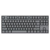 iKBC W200 87键 2.4G无线机械键盘 深灰 Cherry红轴 无光