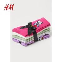 H&M  0952606 彩色高筒袜子5对装