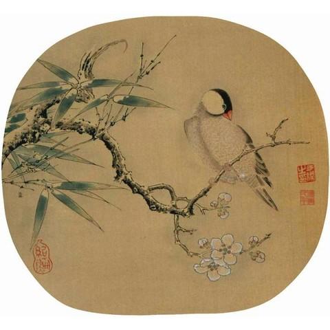 朵云轩 宋人画选 旧存木版水印绢本 国画装饰画 收藏馈赠