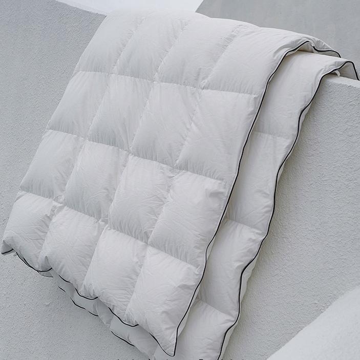 品质好东西 : SIDANDA 诗丹娜 可水洗95%白鹅绒地暖被 200*230mm