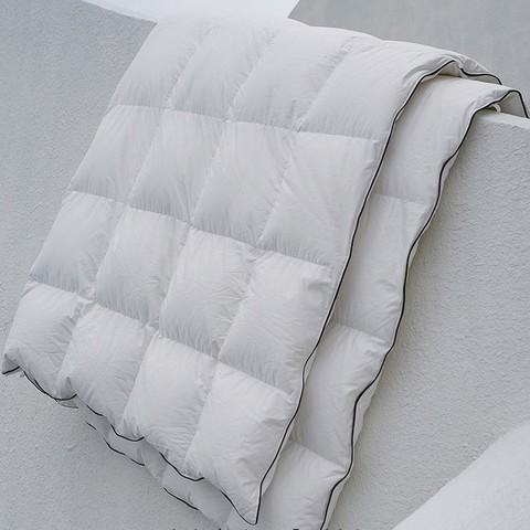 品质好东西:SIDANDA 诗丹娜 可水洗95%白鹅绒地暖被 200*230mm