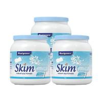 考拉海购黑卡会员:Maxigenes 美可卓 脱脂高钙奶粉(蓝妹子) 1kg*3罐