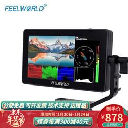 FEELWORLD富威德  摄相机外接显示屏  F6 PLUS 5.5英寸LUT触摸