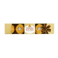 有券的上:FERRERO ROCHER 费列罗 榛果威化巧克力 5粒 共62.5g *3件