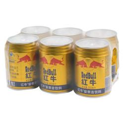 RedBull 红牛 安奈吉饮料 250ml*6罐/组  *2件