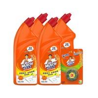 88VIP:Mr Muscle 威猛先生 洁厕液 750g*4瓶 *5件