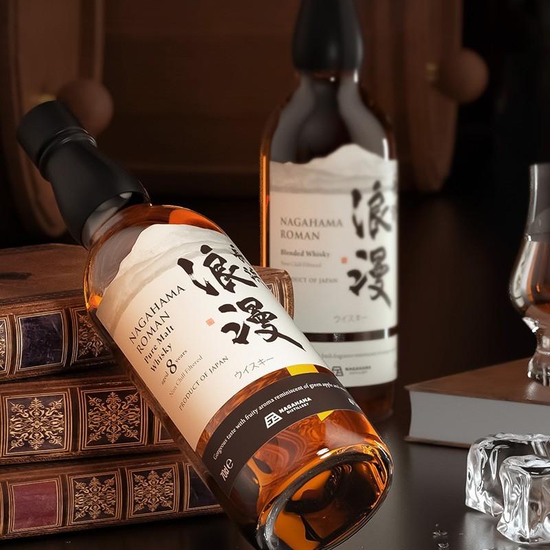 Nagahama Roman 长滨浪漫 调和威士忌 700ML