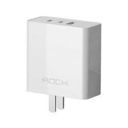 ROCK 洛克 RH-PD65W 充电器 氮化镓GaN 65W 2C1A