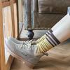 Nan ji ren 南极人 女士日系堆堆中筒袜 7双装