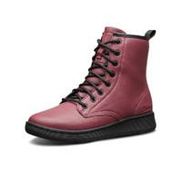 斯凯奇女休闲鞋女鞋子高帮休闲运动鞋时尚潮流马丁靴子女皮靴
