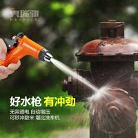 家用高压洗车水枪自来水增压刷车泡沫壶强力喷头加压枪头冲洗地面 *4件