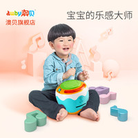 澳贝音乐手拍鼓 儿童宝宝婴幼儿声光益智早教拍拍鼓0-1岁 *2件