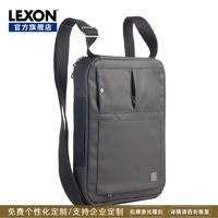 乐上LEXON法国时尚双肩背包电脑包时尚单肩包潮流两用包2019新款