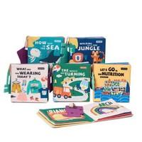 babycare 婴儿玩具布书 6本装+babycare不倒翁 +凑单品