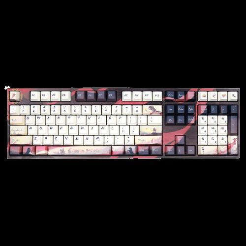 Varmilo 阿米洛 MA108 剑网3 联名款 108键 有线机械键盘 天策主题 Cherry茶轴 无光