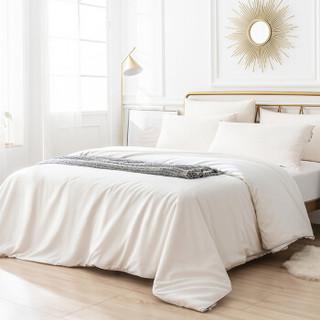 历史低价 : J.ZAO 京东京造 60支纯棉缎纹蚕丝子母被 200*230cm 约8.8斤