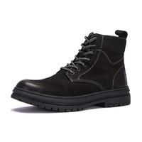 商场同款20年冬季新款马丁靴男潮流时尚战狼靴百搭系带工装靴男