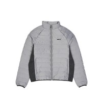 CAT 卡特彼勒 男士薄款羽绒服 CH6MODJK305A08 黑色/灰色 L
