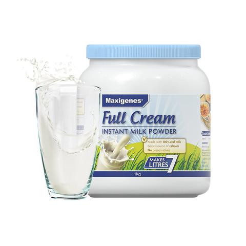 考拉海购黑卡会员:Maxigenes 美可卓 全脂高钙奶粉  1kg