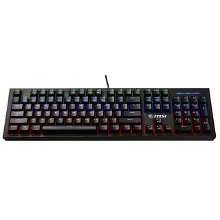 MSI 微星 GK50Z 机械键盘 高特红轴