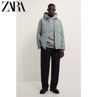 ZARA 08281404514 衬衫式棉服夹克