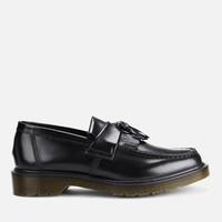 Dr. Martens Adrian Pw 男士抛光皮革乐福鞋-黑色