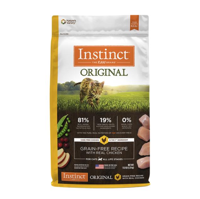 Instinct  无谷鸡肉配方猫粮 4.99kg