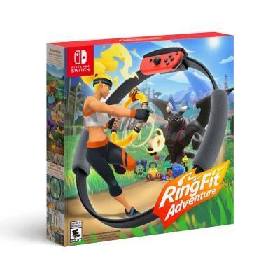 补贴购、新用户福利:Nintendo 任天堂《健身环大冒险》主机游戏 海外版