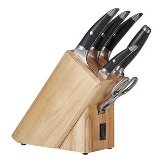 TUOBITUO 拓 海鸥系列 TA07W 七件刀具套装 黑色+凑单品