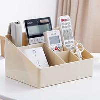 京东PLUS会员 : HOUYA 桌面杂物收纳盒 *3件