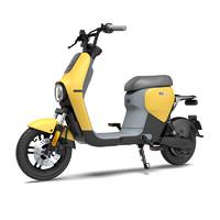 九號電動 B40 電動車 48v16ah鋰電池 檸檬黃灰