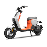九號電動 B40 電動車 48v16ah鋰電池 云鐵灰橙