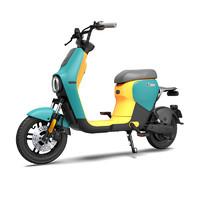 九號電動 B40 電動車 48v16ah鋰電池 長安綠黃