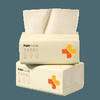 PaperNurse 纸护士 本色抽纸 四层*240张*12包