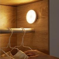 百亿补贴、移动专享:奋本 智能人体感应灯 USB充电+暖光款