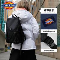 Dickies双肩包 新品时尚潮流双肩包情侣款大容量休闲书包DK008547 卡其色 *3件
