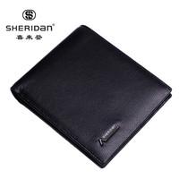 Sheridan 喜来登 男士钱包 头层牛皮多功能票夹 礼盒装 NL161011S