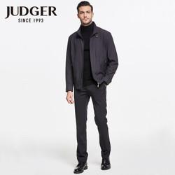 JUDGER 庄吉 JK044A0006511 男士经典纯色夹克  *4件