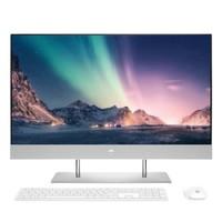 HP 惠普 星27青春版 27英寸 一体机 银白色(酷睿i5-10400T、MX330、8GB、512GB SSD、1920x1080)
