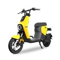 Ninebot九号电动自行车B30C 新国标版智能铅酸电池踏板车电瓶车代步车续航35km柠檬黄灰