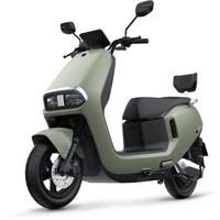 绿源电动车72V20Ah超长续航电动摩托车 SOC智能续航系统  S30 黎草绿