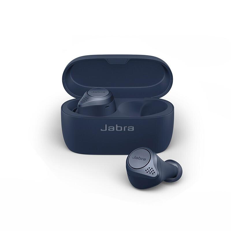 Jabra 捷波朗 Elite Active 75t 真无线蓝牙降噪耳机 蓝色