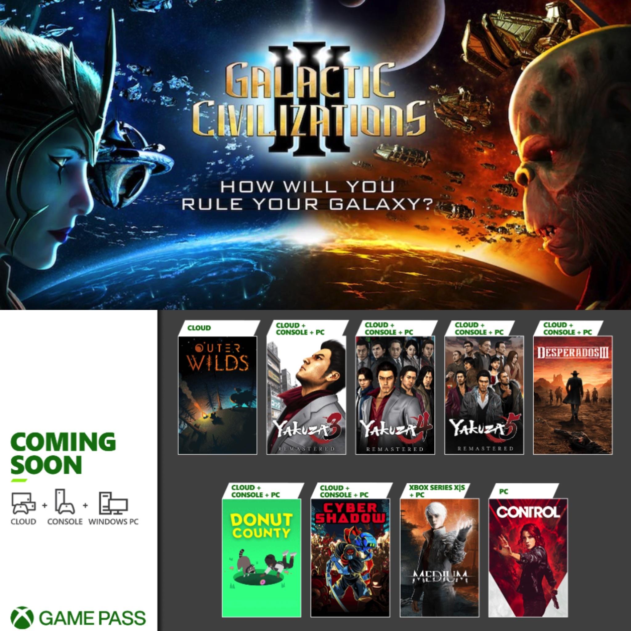 每日游戏特惠 : Epic今晚限免《银河文明3》;XGP1月阵容公布;GTA5豪华版永降