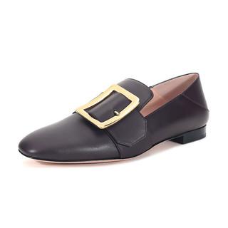 BALLY 巴利 JANELLE系列 女士皮质平底单鞋 62281