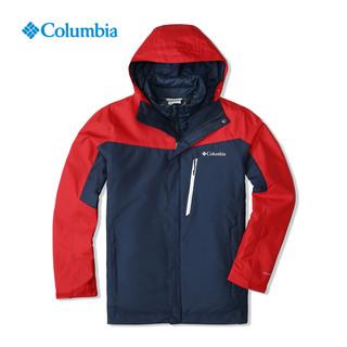 88VIP : Columbia 哥伦比亚 WE1155 男款三合一冲锋衣+AE0259 抓绒衣