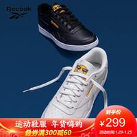 Reebok锐步官方男女板鞋REEMOJI TECHQUE T运动鞋 Q47104_黑色 42