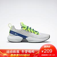 Reebok锐步秋季男女透气运动 SOLE FURY低帮跑步鞋 FY0859_灰色/荧光色 42
