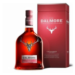 cdf会员购 DALMORE 达尔摩/大摩/帝摩 雪茄三桶单一麦芽威士忌 公升装1000ml *2件