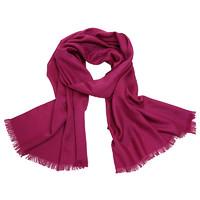 GUCCI 古馳 女士羊毛經典雙G提花披肩圍巾165904 3G646 5501 紫紅色 180*45cm
